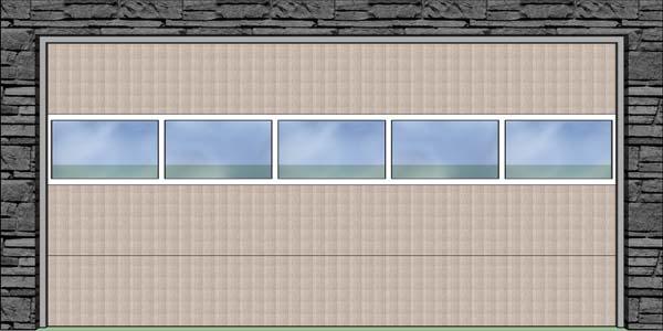 Hliníkový presklený panel