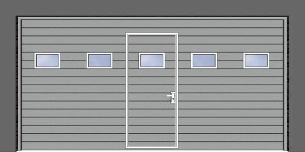 Integrované dvere