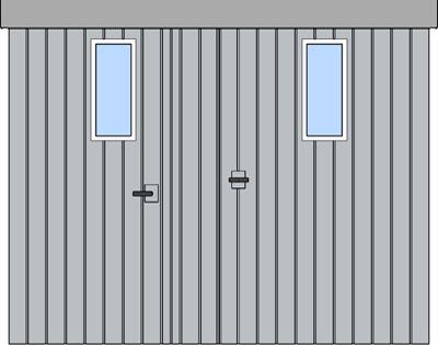 Integrované dvere a okienka